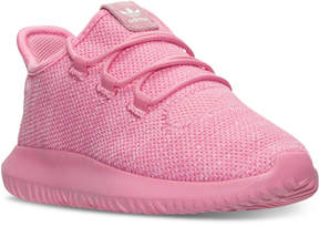adidas Little Girls' Tubular Shadow Knit Casual Sneakers from Finish Line