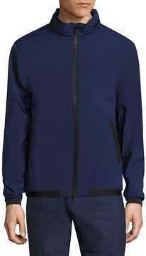 North Sails Men's Solid Zip-Front Jacket