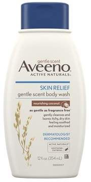 Aveeno Skin Relief Gentle Scent Body Wash For Sensitive Skin - Nourishing Coconut - 12 fl oz