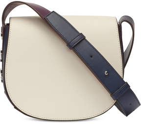 DKNY Bedford Mastrotto Leather Saddle Crossbody