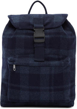 A.P.C. Navy Clip Backpack