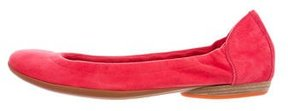Hermes Carina Suede Flats