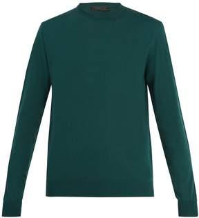 Prada Crew-neck cotton sweater