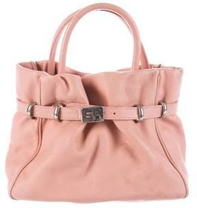 Sonia Rykiel Pebbled Leather Handle Bag