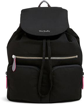 Vera Bradley Black Midtown Cargo Backpack - BLACK - STYLE