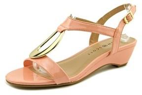 Karen Scott Carmeyy Women Open Toe Synthetic Wedge Sandal.