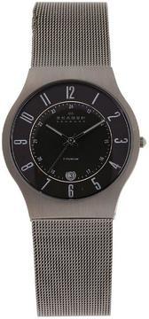 Skagen Titanium 233XLTTM Men's Grey Titanium Watch