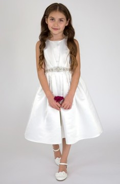 Us Angels Girl's Satin Dress