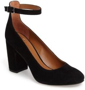 Franco Sarto Women's Abbington Ankle Strap Pump