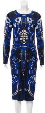 Temperley London Jacquard Bodycon Dress