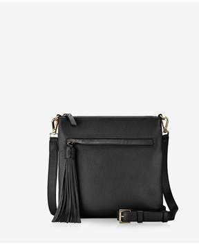 GiGi New York Scout Crossbody In Black Napa Luxe