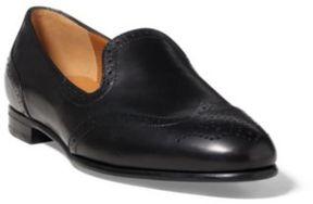 Ralph Lauren Quincy Calfskin Loafer Black 36.5