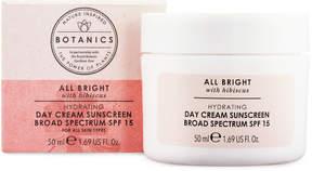 Botanics All Bright Hydrating Day Cream Sunscreen Broad Spectrum SPF 15