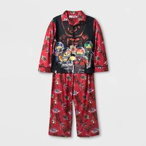 Lego Boys' Ninjago 2pc Long Sleeve Pajama Set - Red