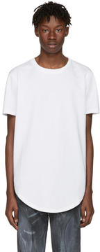 Pyer Moss White Mesh Ryan T-Shirt