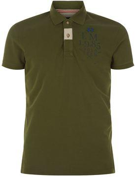 La Martina Embroidered Slim Fit Polo Shirt