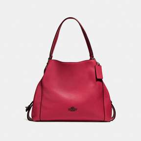 COACH Coach New YorkCoach Edie Shoulder Bag 31 - WASHED RED/DARK GUNMETAL - STYLE