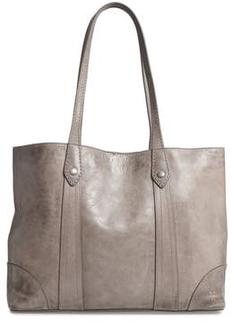 Frye Melissa Leather Shopper - Grey