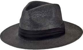 San Diego Hat Company Men's Woven 3 Brim Paper Fedora PBF7308