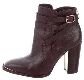 Rachel Zoe Leather Ankle Boots
