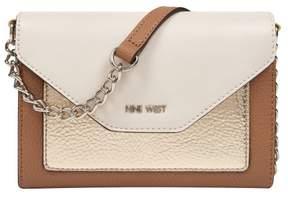 Nine West Aleksei Tri Tone Crossbody Handbag