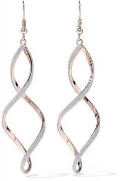 Kenneth Jay Lane Gold-Tone Crystal Earrings