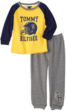 Tommy Hilfiger Boys' 2Pc Fleece Pant Set
