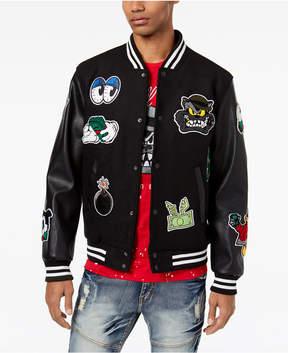 Reason Men's Patch Varsity Jacket