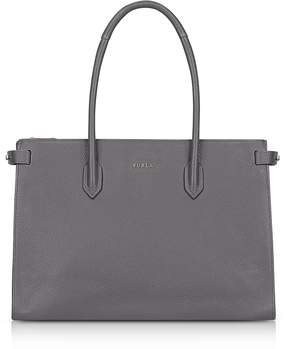 Furla Mercury Leather Pin Medium E/W Tote Bag