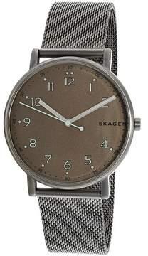 Skagen Men's Signatur SKW6354 Grey Stainless-Steel Quartz Fashion Watch