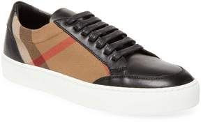 Burberry Women's Plaid Leather Sneakers