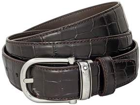 Montblanc Classic Line Brown Chrome-Tanned Leather Belt