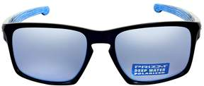 Oakley Silver Prizm Deep Water Polarized Sunglasses