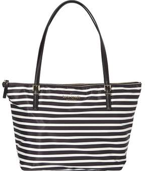 Kate Spade Watson Lane Maya Shoulder Bag - BLACK/CLOTTED CREAM - STYLE