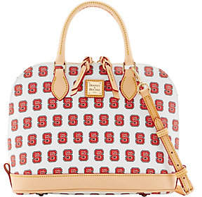 Dooney & Bourke NCAA NC State University ZipZip Satchel - ONE COLOR - STYLE