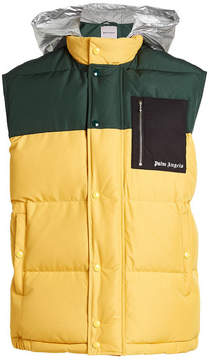 Palm Angels Quilted Down Vest