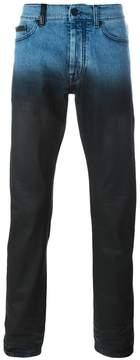 Marcelo Burlon County of Milan degradé slim fit jeans