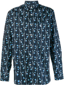 Etro floral printed shirt