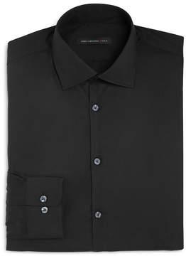 John Varvatos Solid Stretch Slim Fit Dress Shirt