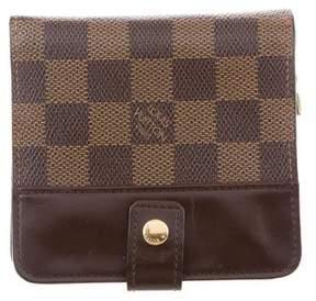 Louis Vuitton Damier Ebene Zippé Compact Wallet