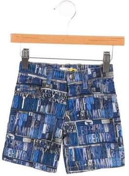 Paul Smith Boys' Printed Shorts w/ Tags