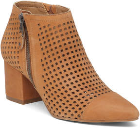 Lucky Brand Kjakelyn Perforated Leather Bootie