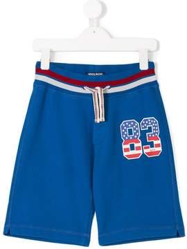 Woolrich Kids 83 print shorts