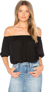 Blq Basiq Off Shoulder Open Back Bodysuit