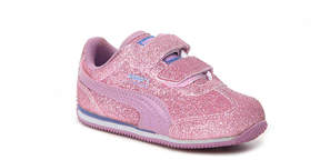 Puma Girls Whirlwind Glitz Toddler Sneaker