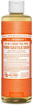 Dr. Bronner's Tea Tree Castile Liquid Soap by 16floz Liquid Soap)