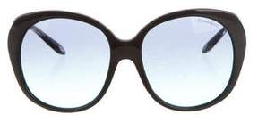 Tiffany & Co. Oversize Tinted Sunglasses su w/ Tags