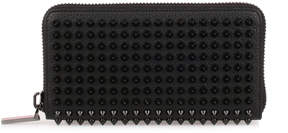 Christian Louboutin Panettone black empire spikes wallet