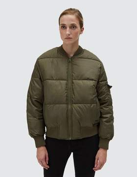 Cheap Monday Risky Bomber in Mud Green