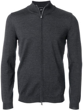 HUGO BOSS zipped sweater